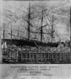 """The Wakefield clipper ship """"Hoogly"""".  From an old and very rare print."""